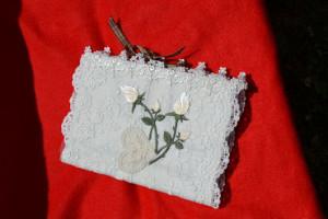linkovaný zápisník - růže
