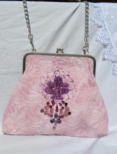 quiltovaná kabelka
