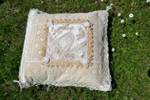 crazy quilt - polštář