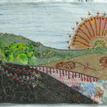 art krajina slunce