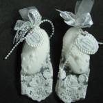 luxusní mýdla v krajce